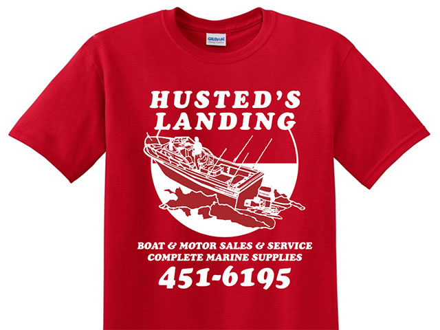 Husted's Landing tee shirts for Valentine's Day