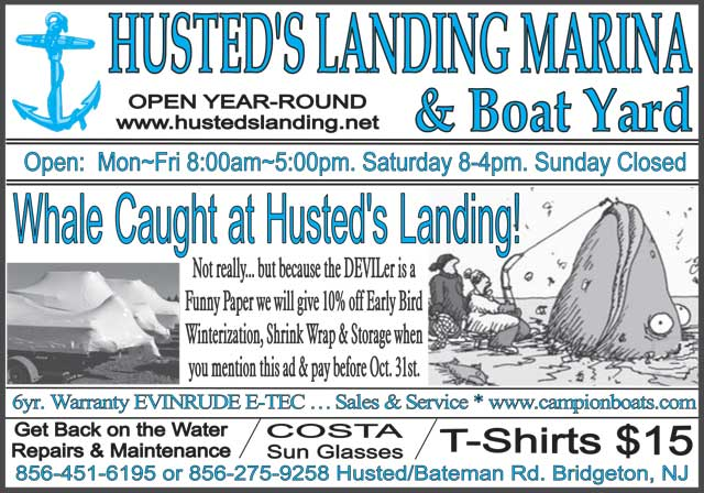 Latest Ad for Husted's Landing