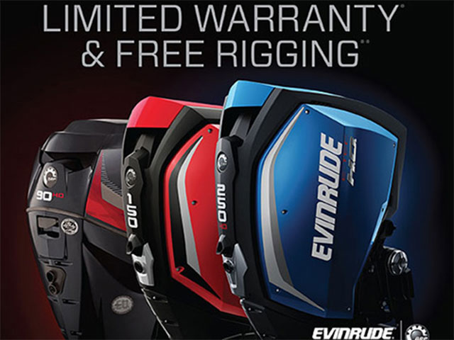 Evinrude's Summer Savings promotion