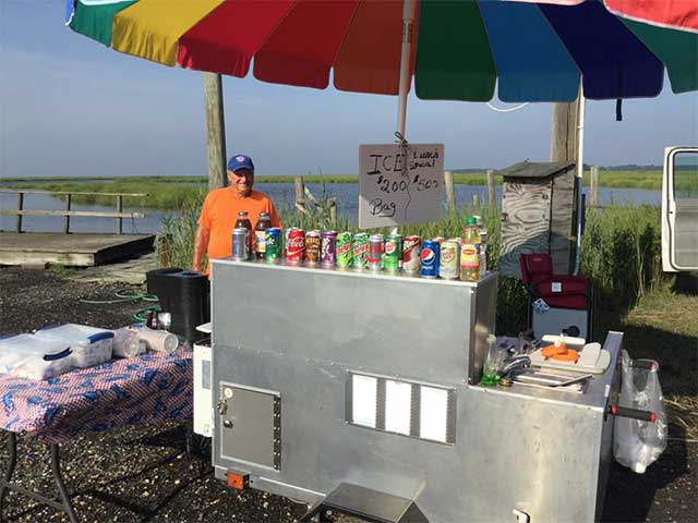 Husted's Landing has cold drinks and more