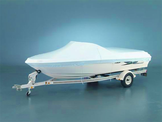 Shrink Wrapping Boats